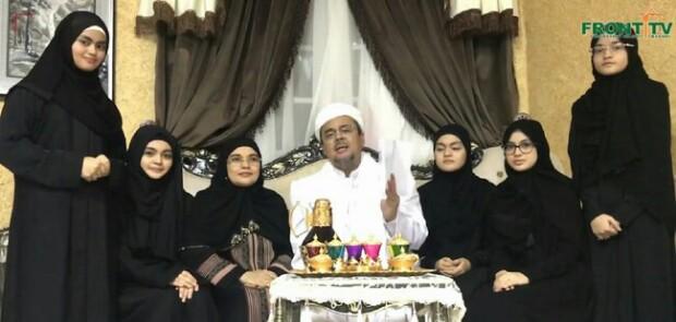 Di Hari Fitri, Habib Rizieq Terima SP3 Kasusnya