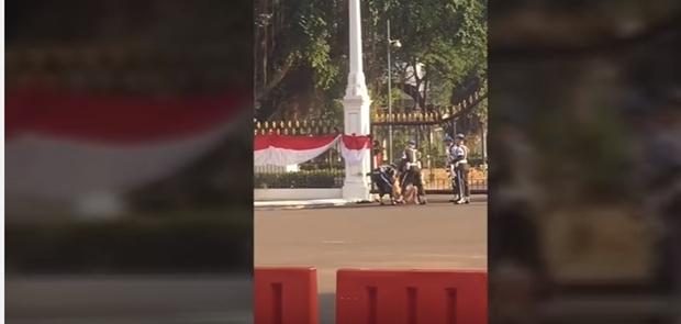 Pria Pemanjat Pagar Istana Positif Konsumsi Narkoba Jenis Sabu