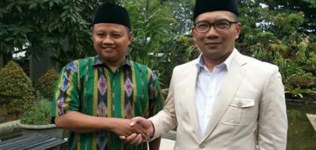 Ridwan Kamil-Uu Ruzhanul Ulum Menangi Pilgub Jabar Versi Hitung Cepat