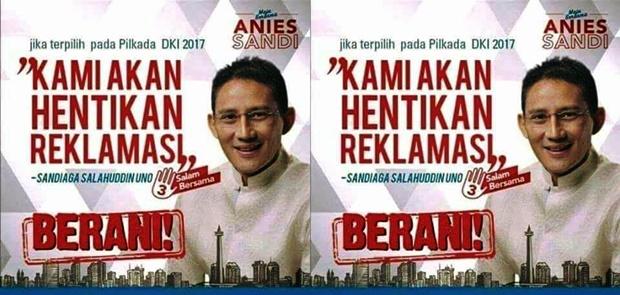 Sebut Anies Menghina Pak Harto Karena Tolak Reklamasi, Ahok Dimana?
