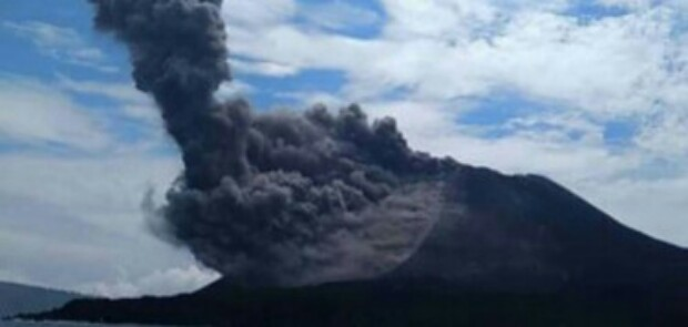 Anak Krakatau Berstatus Waspada, Nahkoda Diimbau Tingkatkan Kewaspadaan