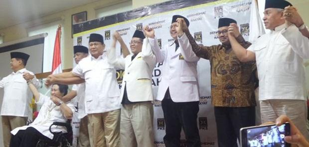 Tinggalkan Demiz, PKS dan PAN Bersama Gerindra Usung Sudrajat-Syaiku di Pilgub Jabar 2018