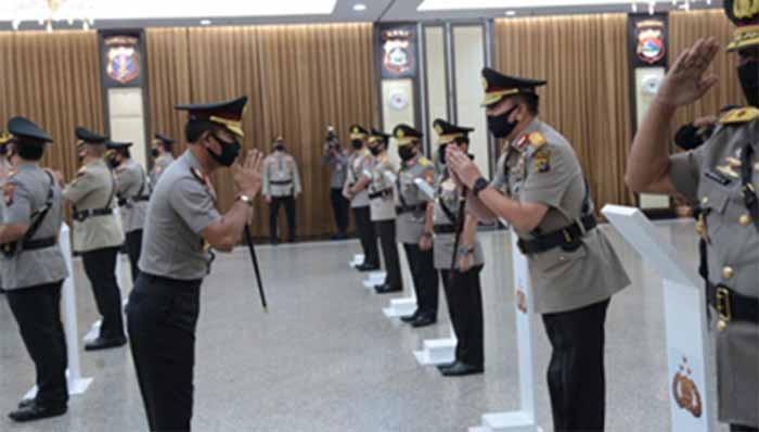 Jenderal Idham Azis Lantik 9 Kapolda Baru