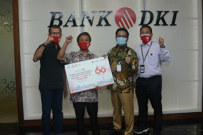 Bank DKI Beri Modal Usaha Kepada Putna Bhakti