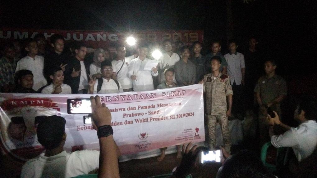 Koalisi Mahasiswa-Pemuda Indonesia Siap Menangkan Prabowo di 2019