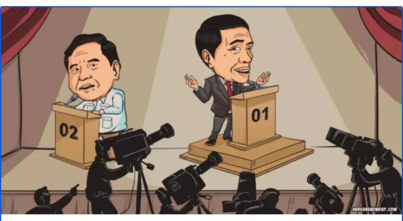 Pidato Prabowo Vs Jokowi, Media Indonesia di Mata Pengamat Asing