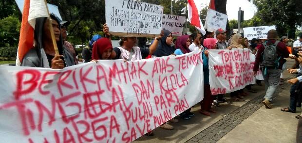Direjam Kasus Penyerobotan Lahan, Warga Pulau Pari Minta Bantuan Anies Baswedan