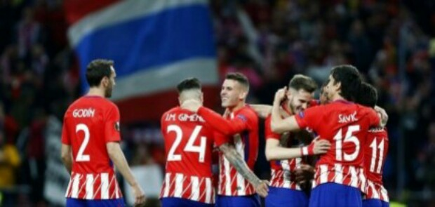 Atletico Madrid dan Marseille Bertemu di Final Piala Europa