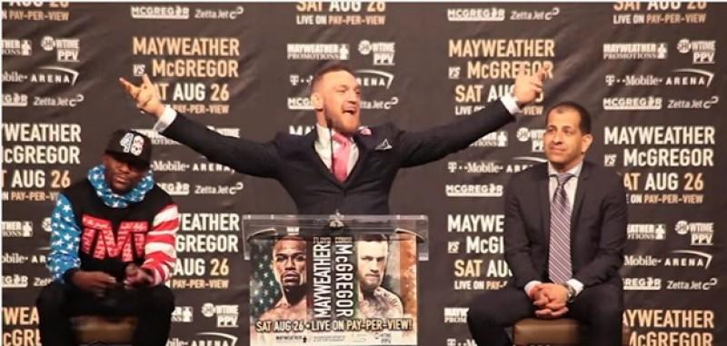 McGregor Yakin Menang Dari Mayweather Dalam 10 Detik