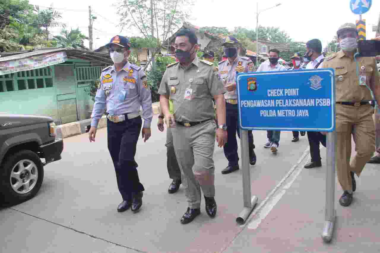 DKI Tingkatkan Pemeriksaan PSBB Di Pekan Terakhir