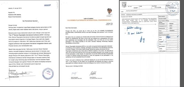 Disparbud Pastikan Permohonan Sponsorship Ratna ke Chili sejak Januari 2018