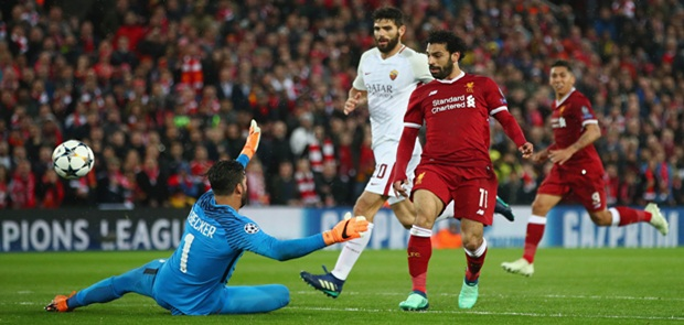 Libas Roma 5-2, Liverpool Belum Aman