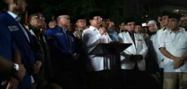 Resmi, Prabowo Rematch Vs Jokowi di Pilpres 2019 dengan Didampingi Sandiaga Uno