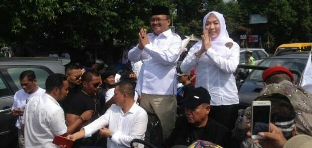 Gerindra Optimis Kalinga-Santy Menangi Pilbup Cirebon