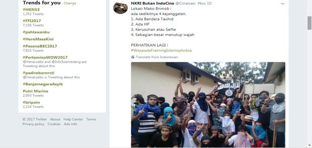 Netizen Curiga Rusuh di Rutan Mako Brimob Hanya Rekayasa