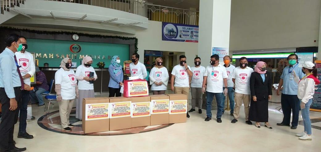 Ketua Satgasda Kota Tangsel: Bantuan APD Tak Sebanding dengan Perjuangan Tenaga Medis