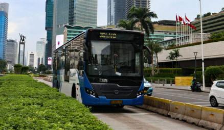 Layanan BRT dan Non-BRT Transjakarta Berangsur Normal