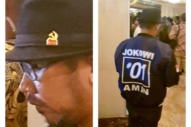 FKDM DKI Minta Polisi Usut Kabar Tentang Pria Bertopi Dengan Lambang PKI di Debat Capres IV