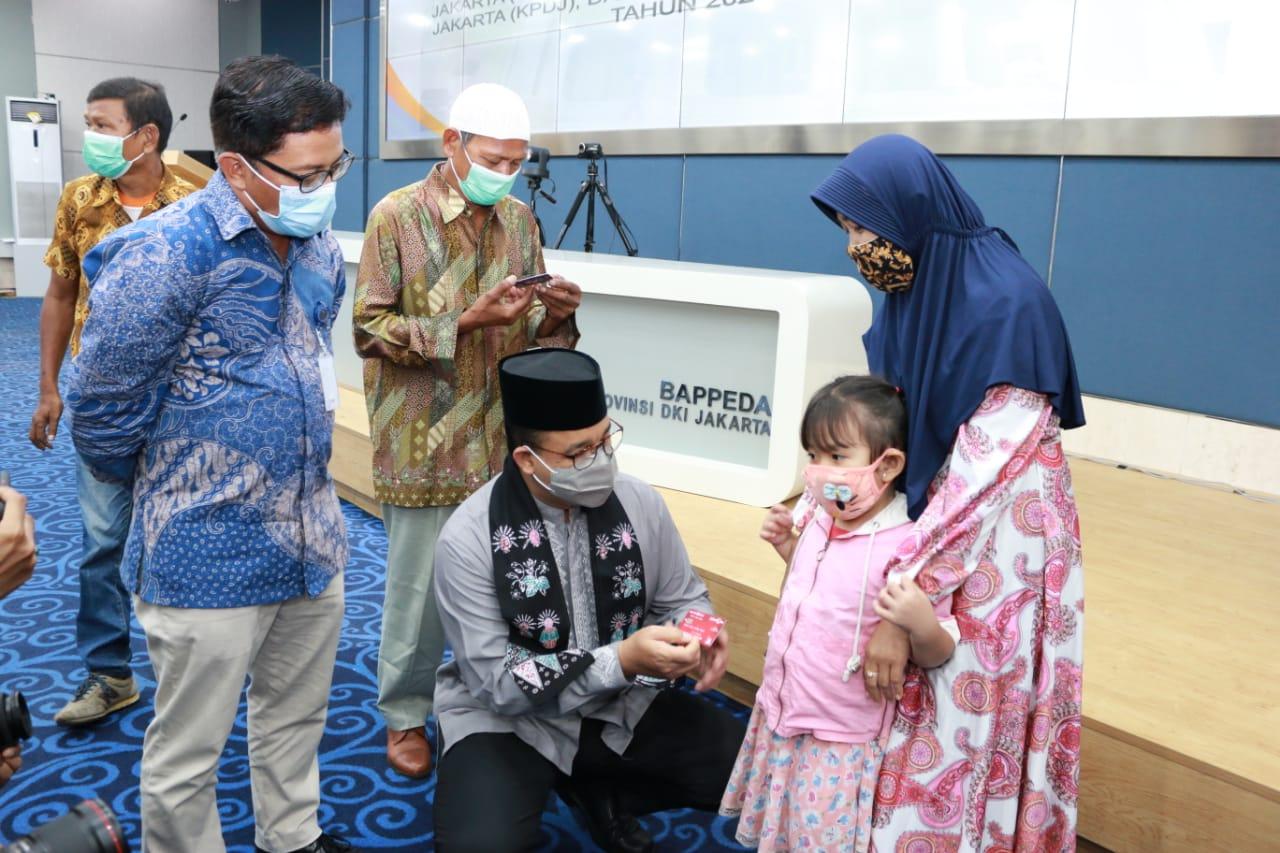 Pemprov DKI Jakarta dan Bank DKI Luncurkan Kartu Anak Jakarta