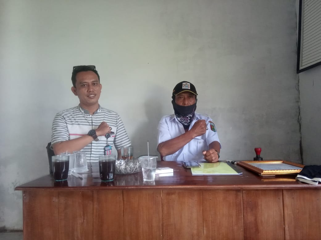 Wagiran Kades Margo Rejo Pembangunan Infrastruktur Onderlag, Untuk Kelancaran Petani