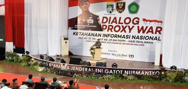 Gatot Nurmantyo: Proxy War Bisa Hancurkan Negara Tanpa Peluru