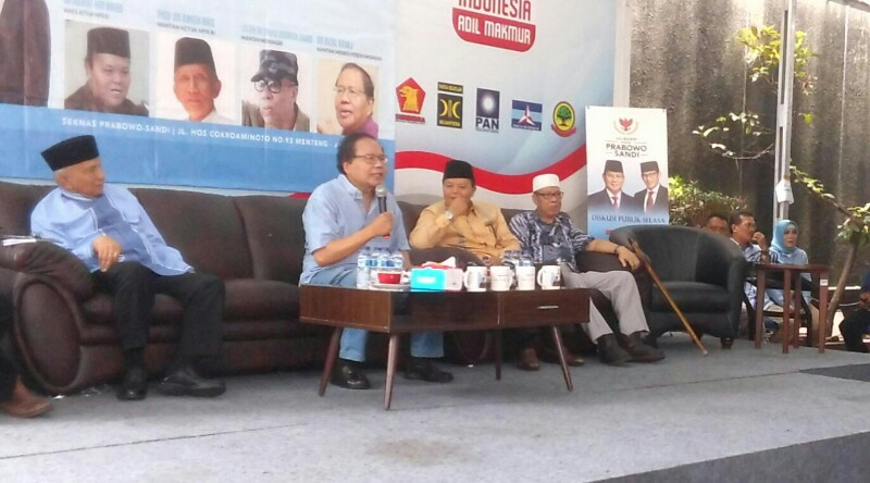 Rizal Ramli Sebut Yang Coba-coba Supercurang Akan Nantang People Power