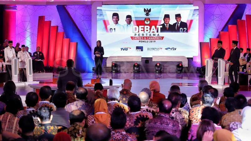 Debat Pilpres I Dinilai Tak Mampu Geser Preferensi Pemilih