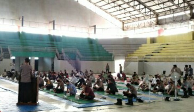 Jelang Pilkada, Polres Lamsel Gelar Doa Bersama