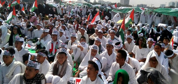 Resolusi Baitul Maqdis Dibacakan di Aksi Indonesia Bela Al Quds, Ini Isinya