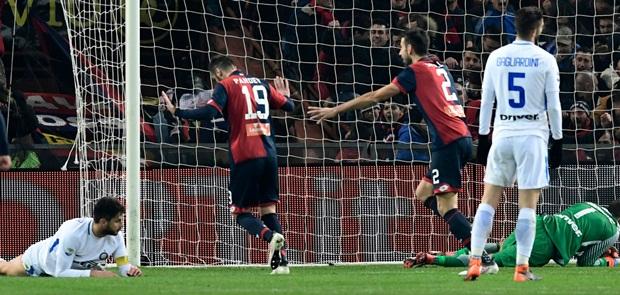 Ditaklukkan Genoa, Inter Gagal Geser AS Roma dari Peringkat Tiga Klasemen