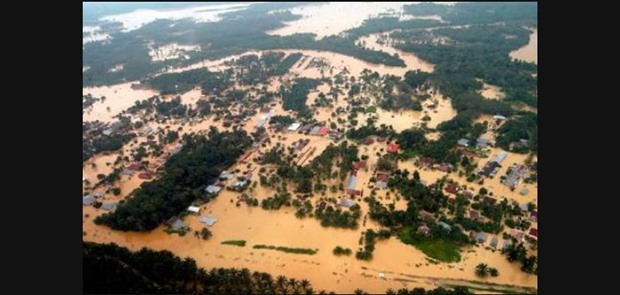 Belitung Timur Dilanda Banjir Besar
