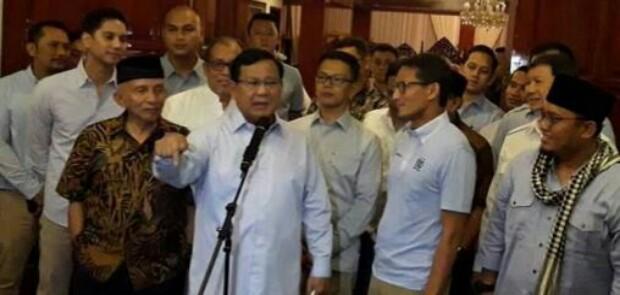 Gara-Gara Kebohongan Ratna, Prabowo-Sandi Jadi Terlapor Penyebaran Hoaks