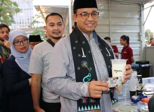 Sinergi BUMD, Bank DKI & Perumda Pasar Jaya Kembangkan UMKM Taman Jajan JakOne Thamrin 10
