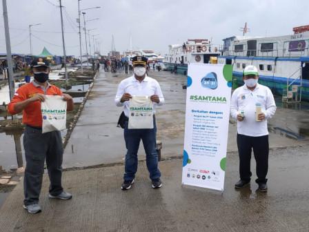 Kantong Belanja Disosialisasikan di Pelabuhan Kaliadem