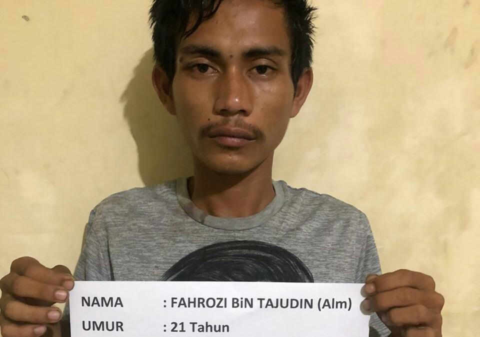 Kepolisian Sektor Kawasan Pelabuhan (KSKP) Bakauheni, Lampung Selatan (Lamsel) berhasil meringkus seorang pemuda pelaku tindak pidana pencurian dengan pemberatan (Curat).