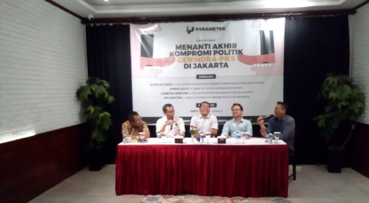 Gerindra Bantah Hambat Cawagub DKI Melalui  Fit and Proper Test