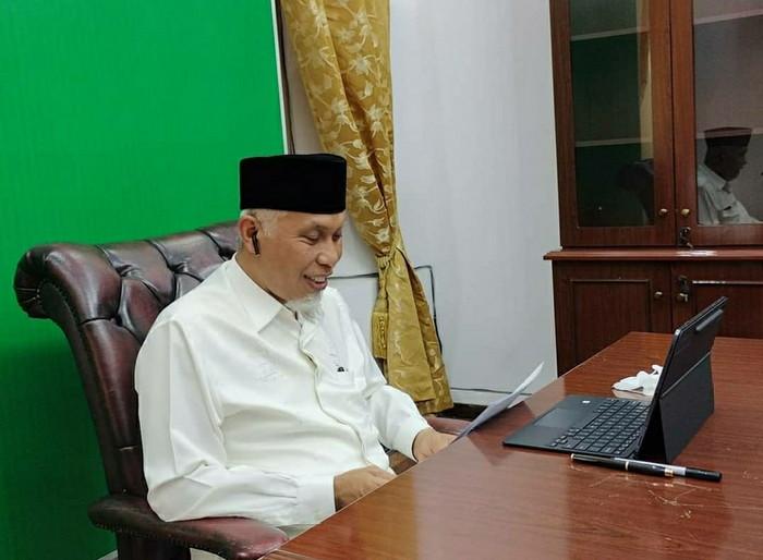 Gubernur Mahyeldi Minta ASN Dukung Konversi Bank Nagari Menjadi Syariah