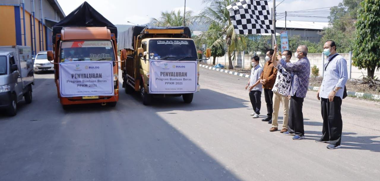 Lampung Luncurkan Program Bantuan Beras PPKM 2021
