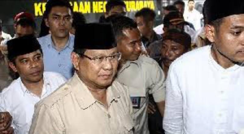Mendadak Sakit, Prabowo Batal Kampanye Akbar di Pangkalpinang