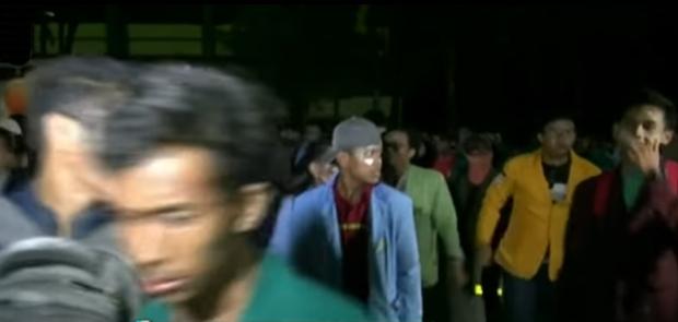 Serikat Pekerja Desak Polisi Bebaskan Mahasiswa Pendemo Presiden Joko Widodo