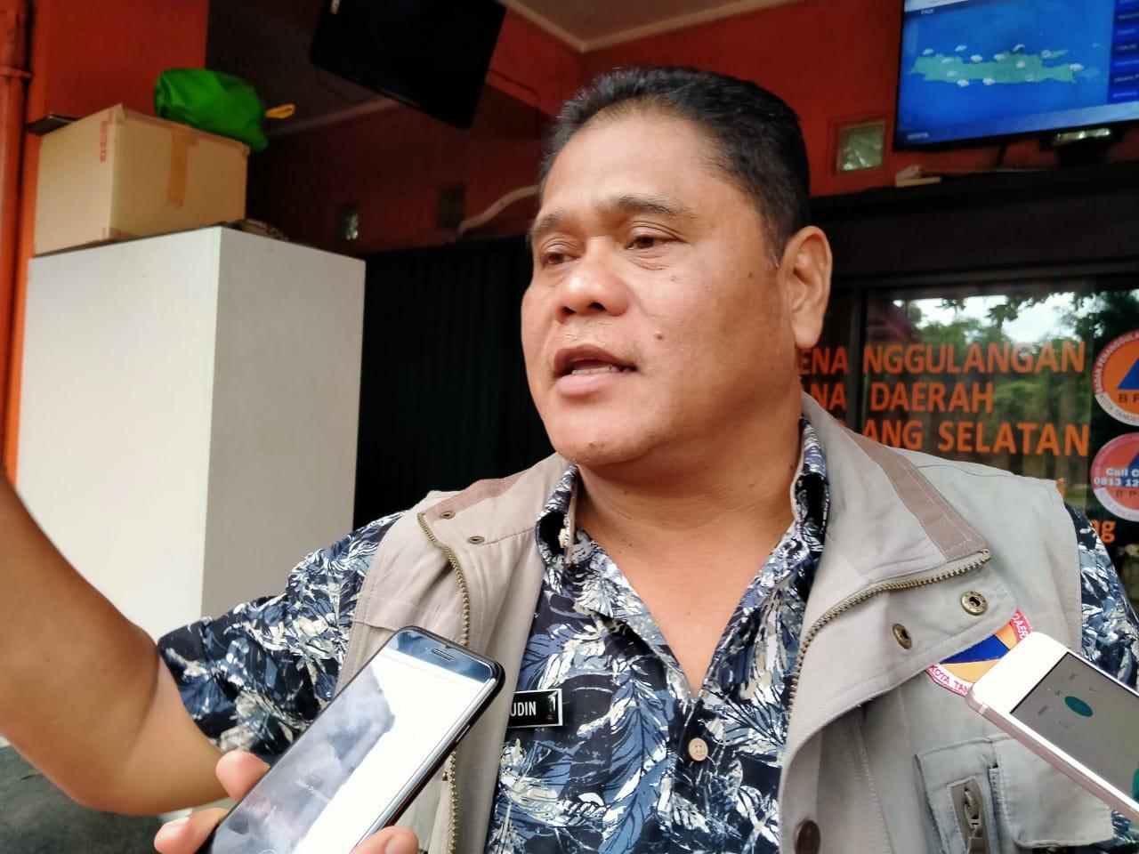 11 FEWS di Tangsel Tak Berfungsi, Kalak BPBD: Tanya Ke DPU
