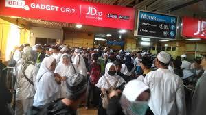 Puluhan Ribu Umat Islam dari Bogor, Depok dan Bekasi Banjiri Reuni 212