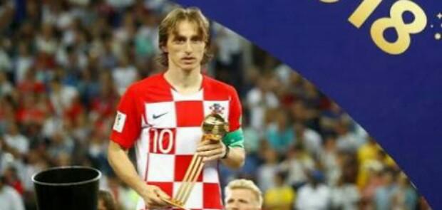Luka Modric Pemain Terbaik Piala Dunia 2018