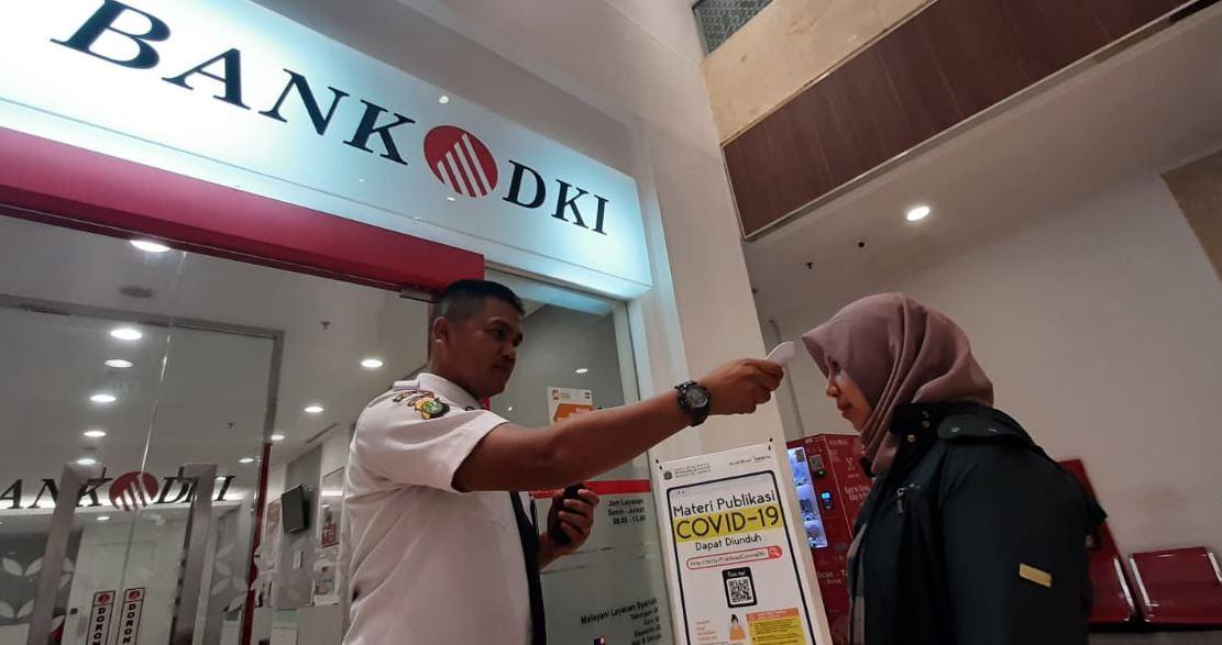 Terkait Corona, Bank DKI Tetap Beroperasi Penuh, Imbau Transaksi Non Tunai
