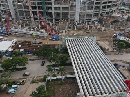 Pembangunan Jakarta Intetnasional Stadium Mencapai 42,26 Persen