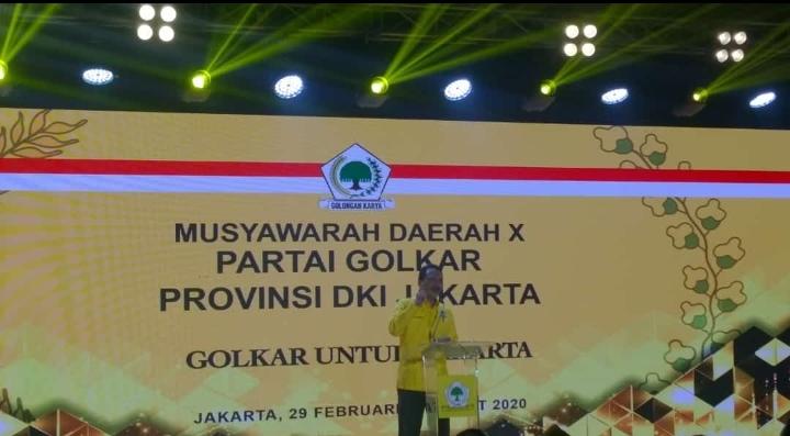 Musda Golkar DKI, Waketum DPP : Tak Ada Salahnya Aklamasi, Asal Tanpa Intervensi