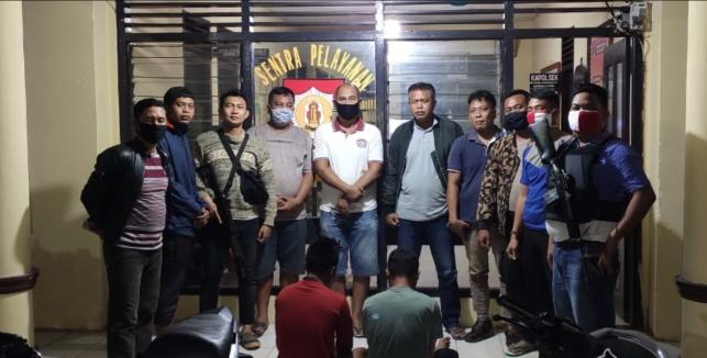 Pelaku Curas dan Bandar Narkoba Dibekuk Polsek Buay Bahuga