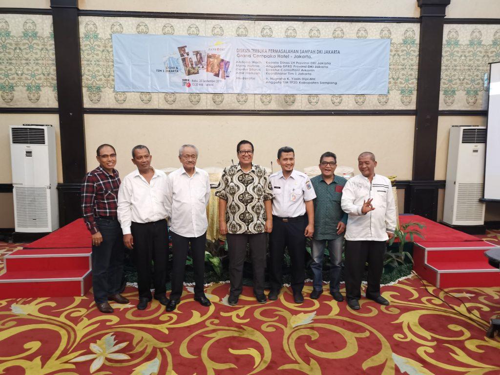 DKI Akan Bentuk Lembaga Pengawas Pengolahan Sampah