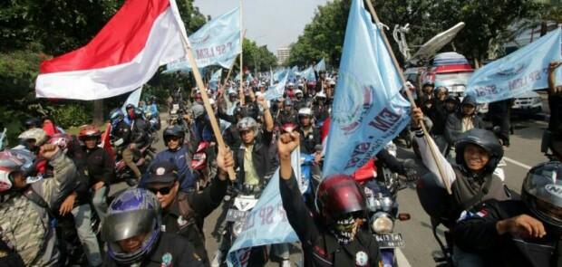 Peringati Mayday, Besok 150.000 Buruh Datangi Istana
