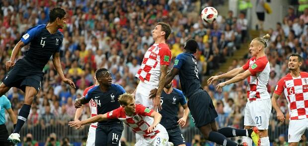 Perancis Juara Piala Dunia 2018, Kroasia Runner Up